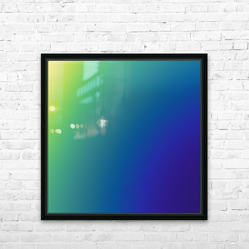 COOL DESIGN  (68) HD Sublimation Metal print with Decorating Float Frame (BOX)