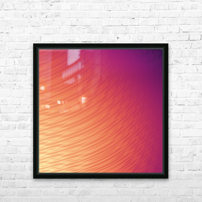 COOL DESIGN  (60) HD Sublimation Metal print with Decorating Float Frame (BOX)