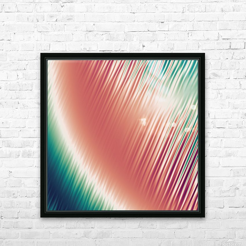 COOL DESIGN  (65) HD Sublimation Metal print with Decorating Float Frame (BOX)