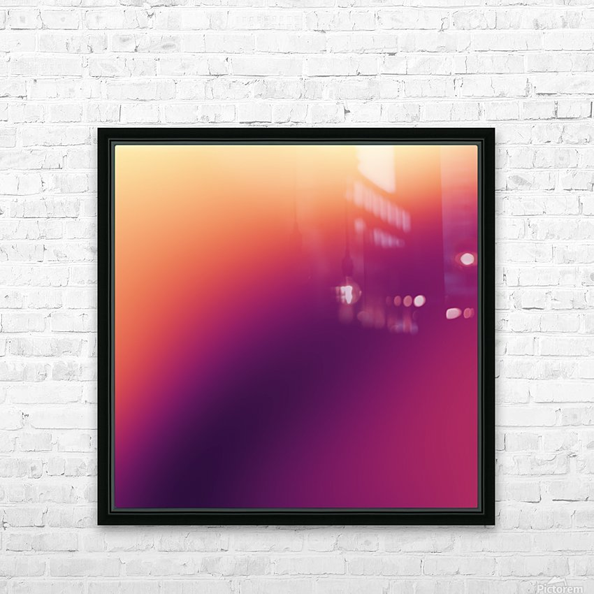 COOL DESIGN  (95) HD Sublimation Metal print with Decorating Float Frame (BOX)