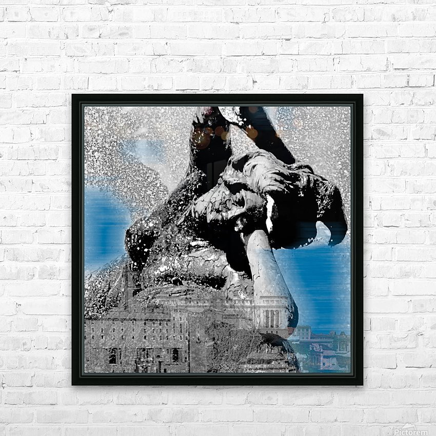 Rome HD Sublimation Metal print with Decorating Float Frame (BOX)