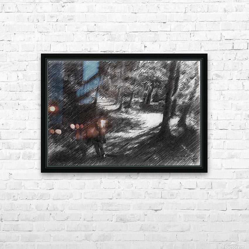 Plasmolen – 16-05-19 HD Sublimation Metal print with Decorating Float Frame (BOX)