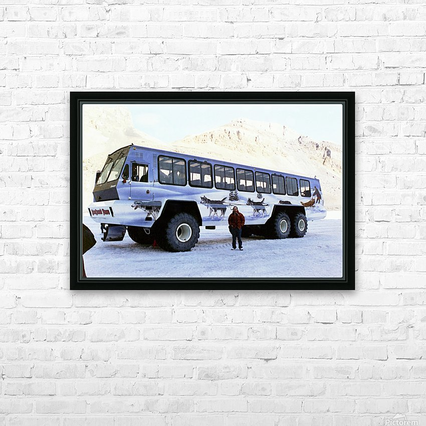 Ice Fields Transportation - Banff Canada HD Sublimation Metal print with Decorating Float Frame (BOX)
