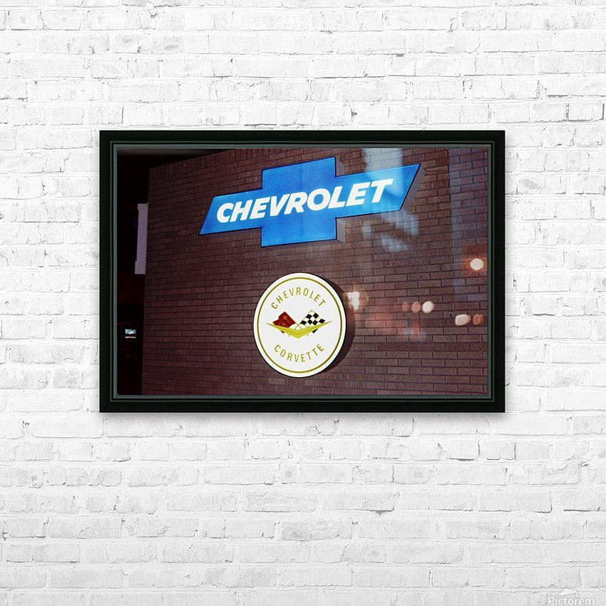 Chevrolet Corvette Bowling Green Kentucky HD Sublimation Metal print with Decorating Float Frame (BOX)