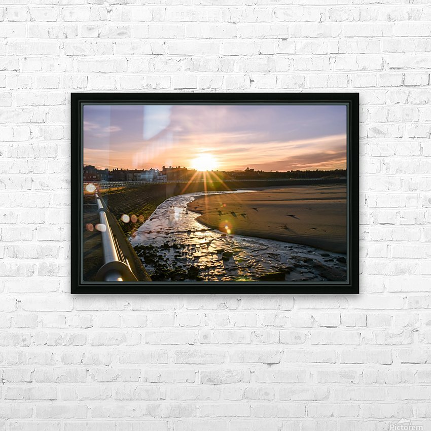 St. Andrews Dundee Scotland HD Sublimation Metal print with Decorating Float Frame (BOX)