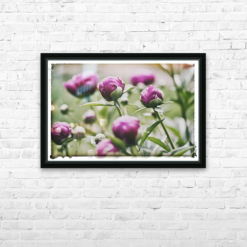 About To Open HD Sublimation Metal print with Decorating Float Frame (BOX)