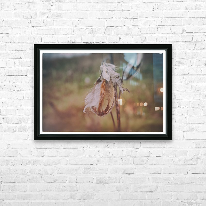 Milk Weed HD Sublimation Metal print with Decorating Float Frame (BOX)