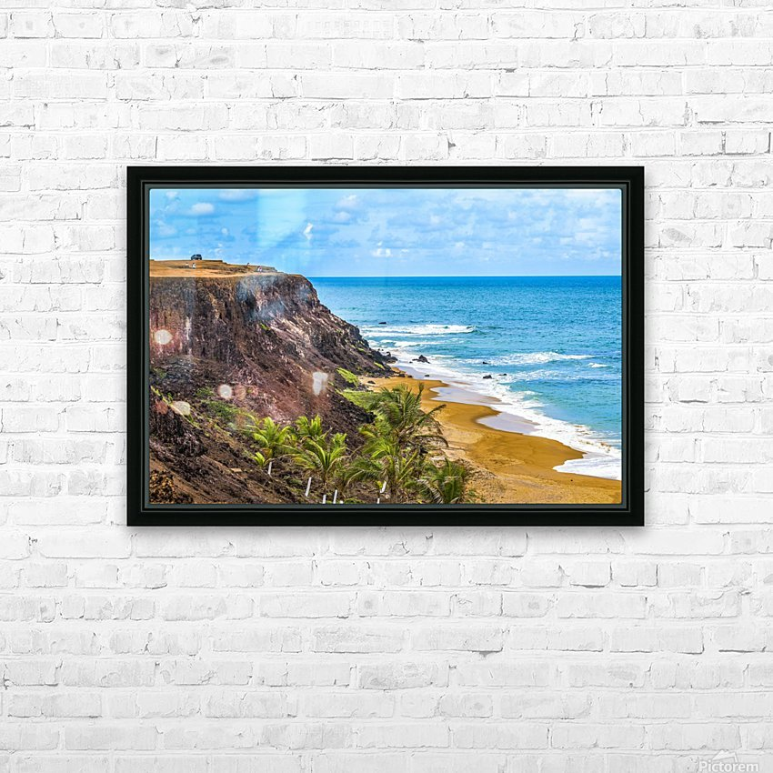 Praia Do Amor, Pipa   Brazil HD Sublimation Metal print with Decorating Float Frame (BOX)
