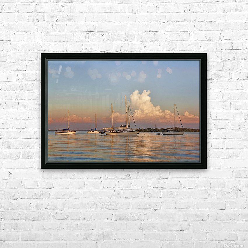 Peaceful Surrender HD Sublimation Metal print with Decorating Float Frame (BOX)