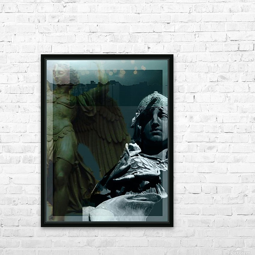 The Rejection of Caine HD Sublimation Metal print with Decorating Float Frame (BOX)