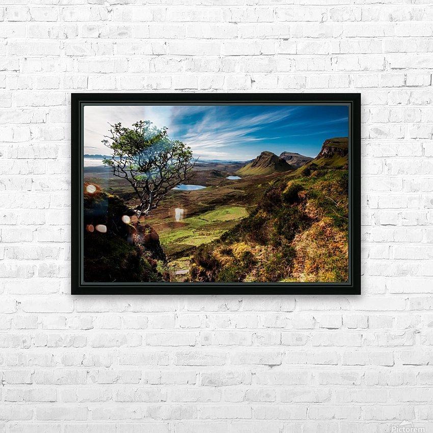 landscape quairaing scotland HD Sublimation Metal print with Decorating Float Frame (BOX)