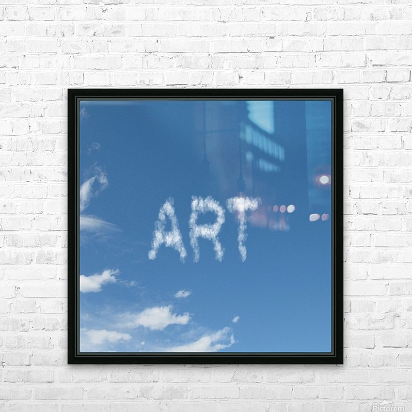 Artist Sky HD Sublimation Metal print with Decorating Float Frame (BOX)
