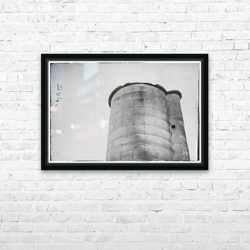 Silo HD Sublimation Metal print with Decorating Float Frame (BOX)