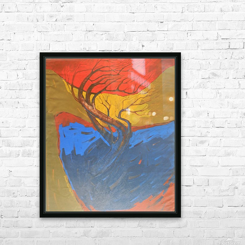 10 HD Sublimation Metal print with Decorating Float Frame (BOX)