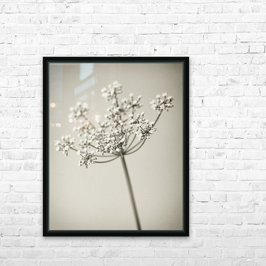 Vintage Flowers HD Sublimation Metal print with Decorating Float Frame (BOX)
