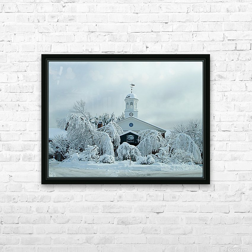 Rivermead After The Storm - Peterborough NH HD Sublimation Metal print with Decorating Float Frame (BOX)
