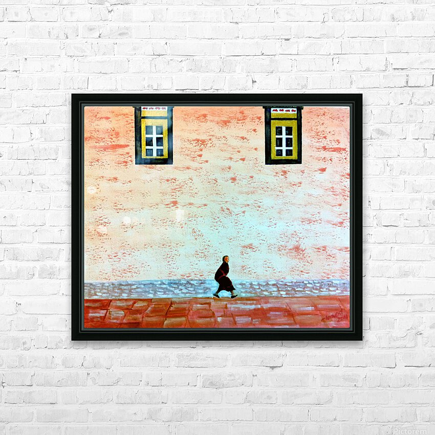 Animal HD Sublimation Metal print with Decorating Float Frame (BOX)