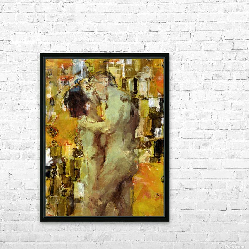 Hold Me Tight HD Sublimation Metal print with Decorating Float Frame (BOX)