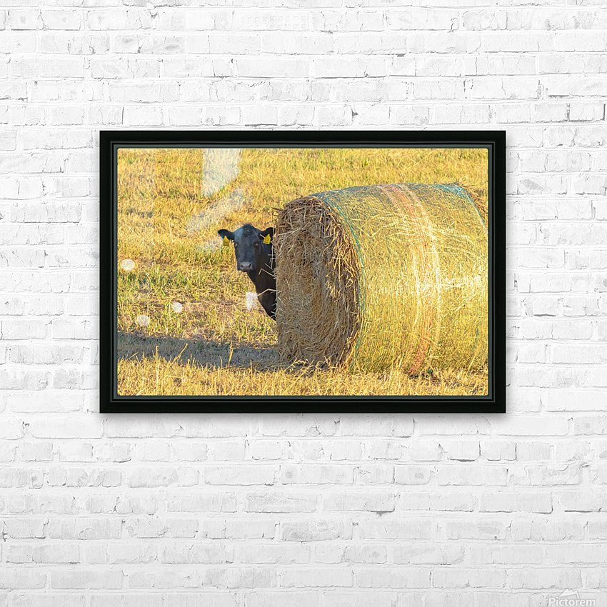 Hay.You Looking For Me HD Sublimation Metal print with Decorating Float Frame (BOX)