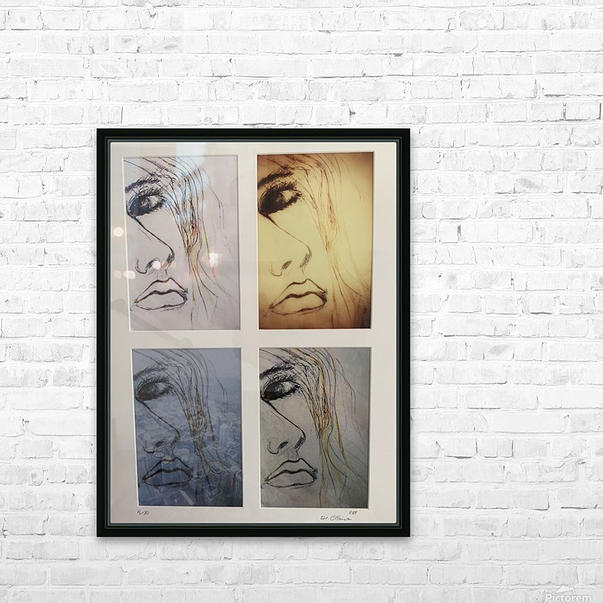 Facing the City HD Sublimation Metal print with Decorating Float Frame (BOX)