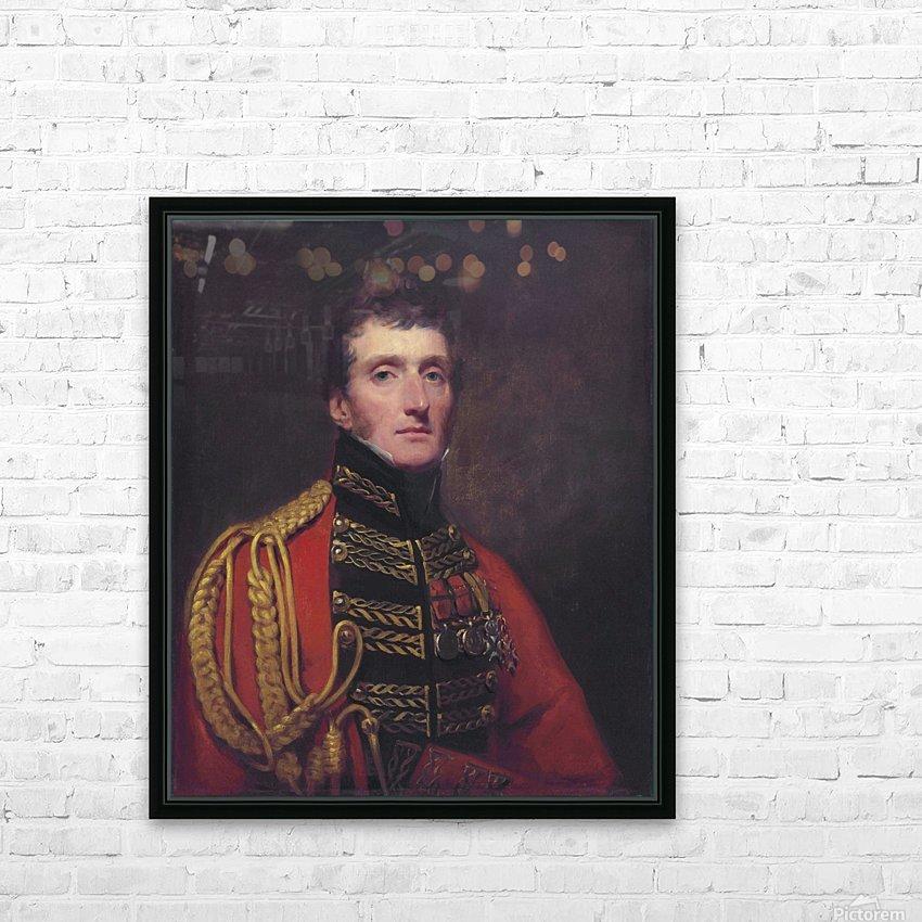Lieutenant General William Stuart HD Sublimation Metal print with Decorating Float Frame (BOX)