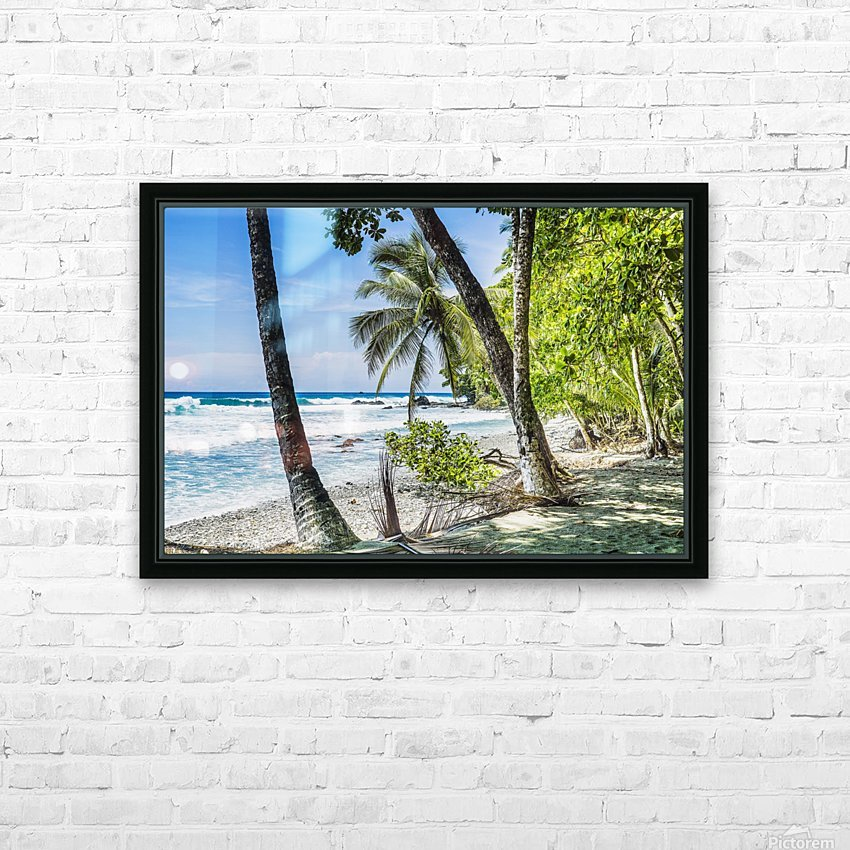 Costa rican beach Osa Peninsula Costa Rica HD Sublimation Metal print with Decorating Float Frame (BOX)