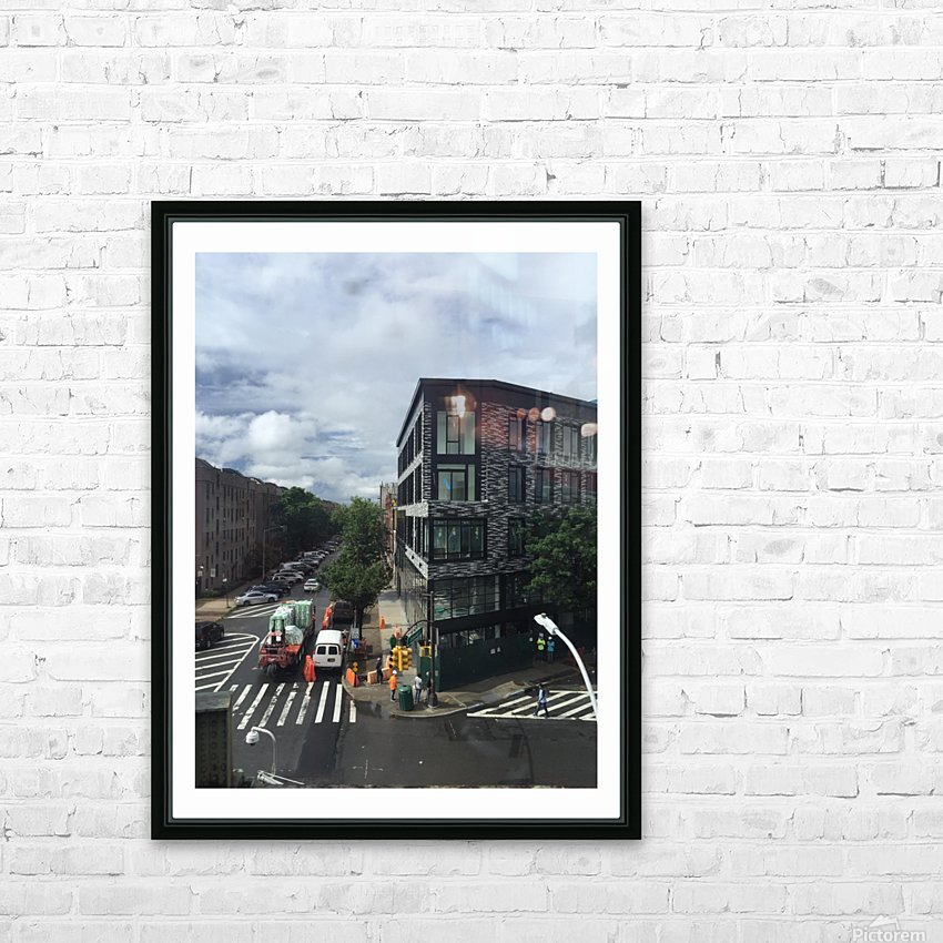 Rainy day HD Sublimation Metal print with Decorating Float Frame (BOX)