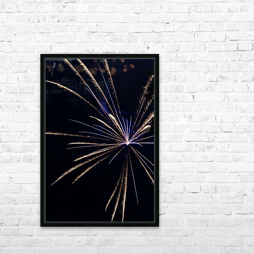 Fireworks 2019 24 HD Sublimation Metal print with Decorating Float Frame (BOX)