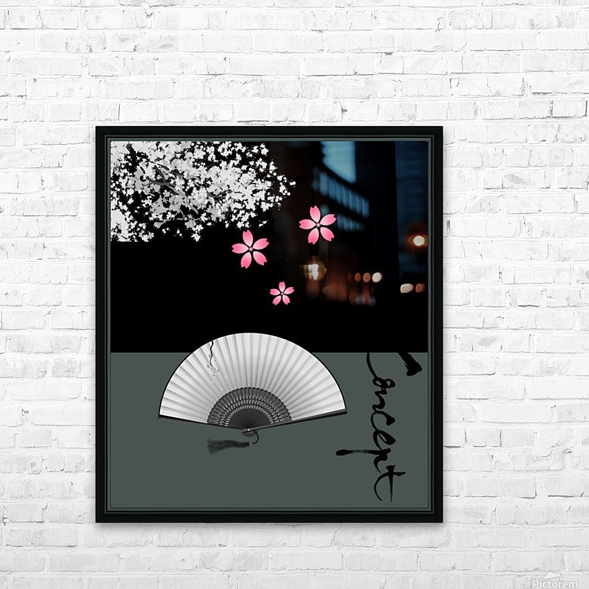 Japanese Concept 11A HD Sublimation Metal print with Decorating Float Frame (BOX)