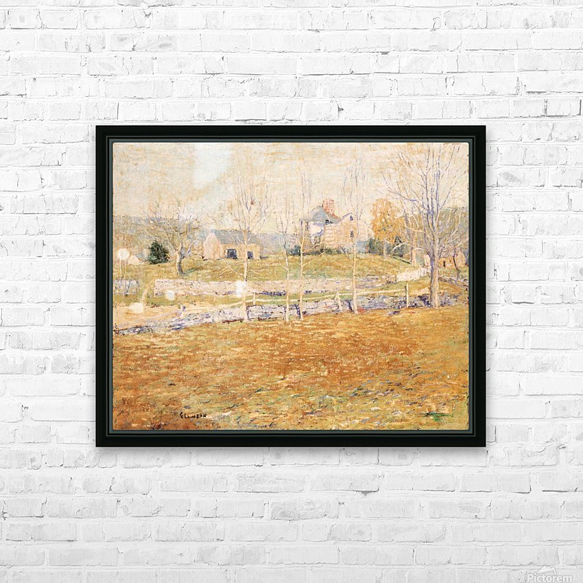 An abandoned farm HD Sublimation Metal print with Decorating Float Frame (BOX)