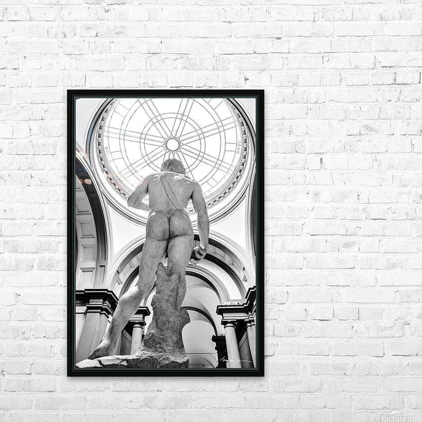 David se garde une petite gêne HD Sublimation Metal print with Decorating Float Frame (BOX)