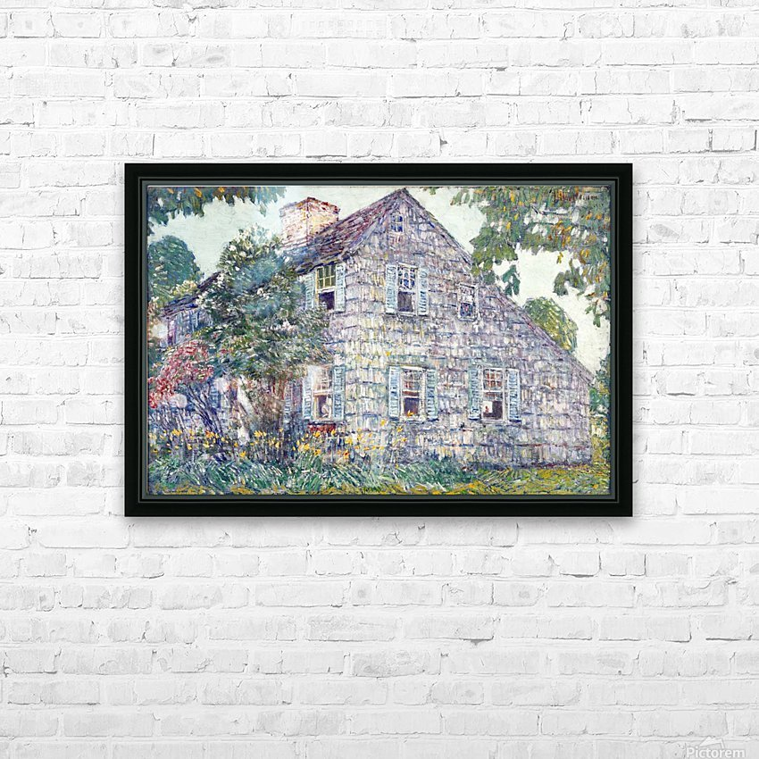 Hassam House HD Sublimation Metal print with Decorating Float Frame (BOX)