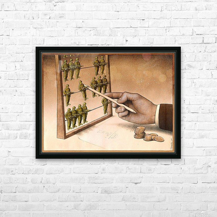 Abacus HD sublimation métal imprimé avec décoration flotteur cadre (boîte)