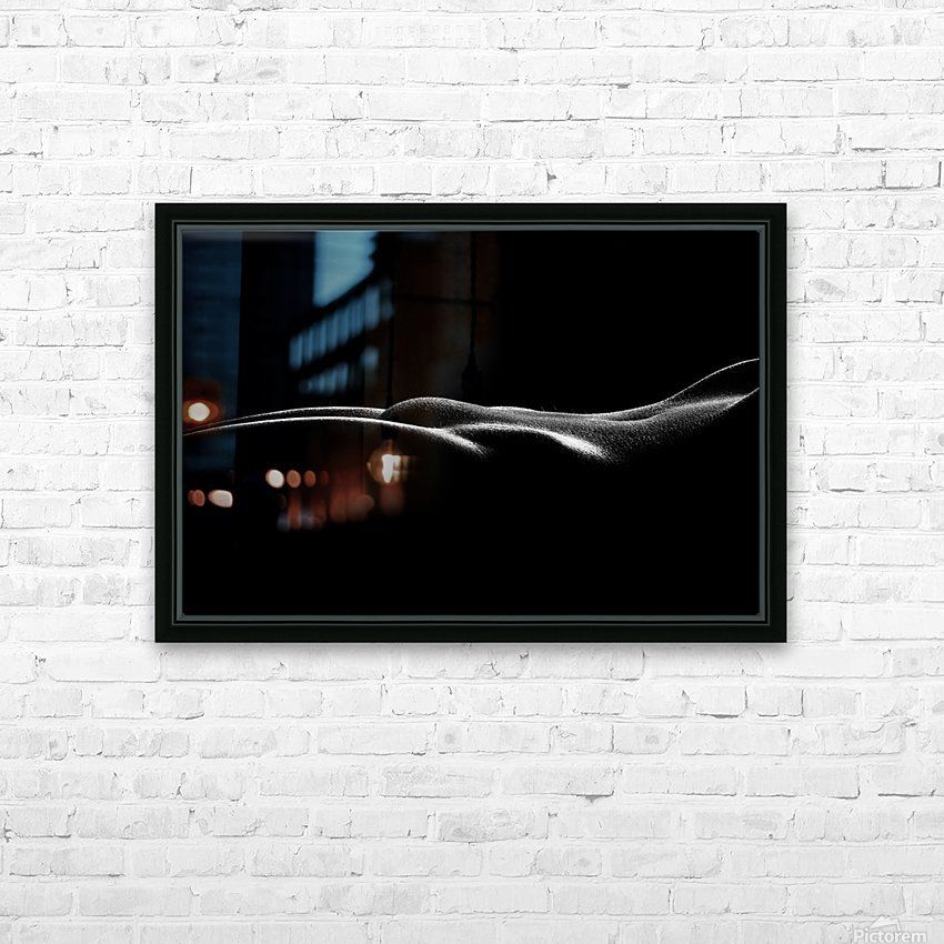Nude woman bodyscape 37 HD Sublimation Metal print with Decorating Float Frame (BOX)