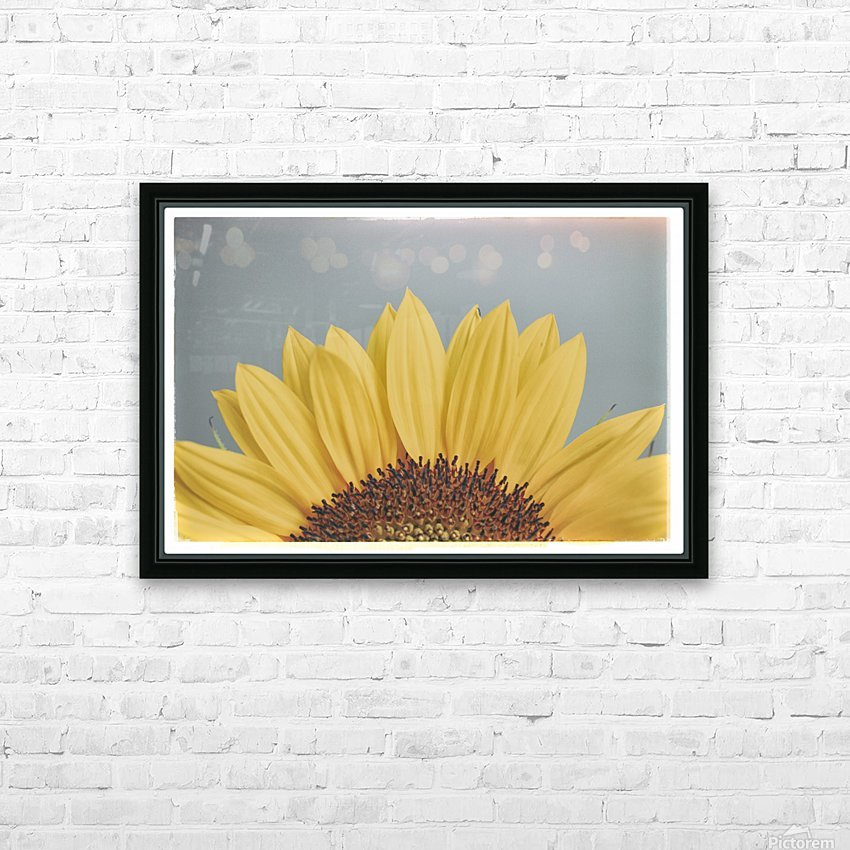 Sun Is Shining HD Sublimation Metal print with Decorating Float Frame (BOX)