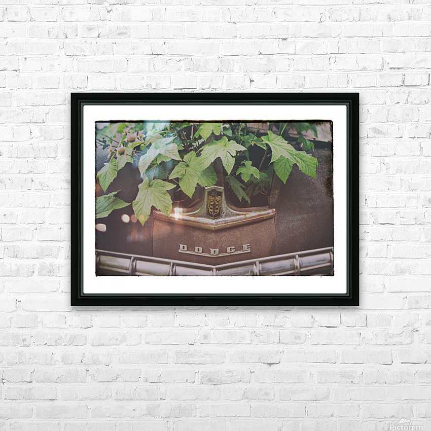 Left to Rust  HD Sublimation Metal print with Decorating Float Frame (BOX)