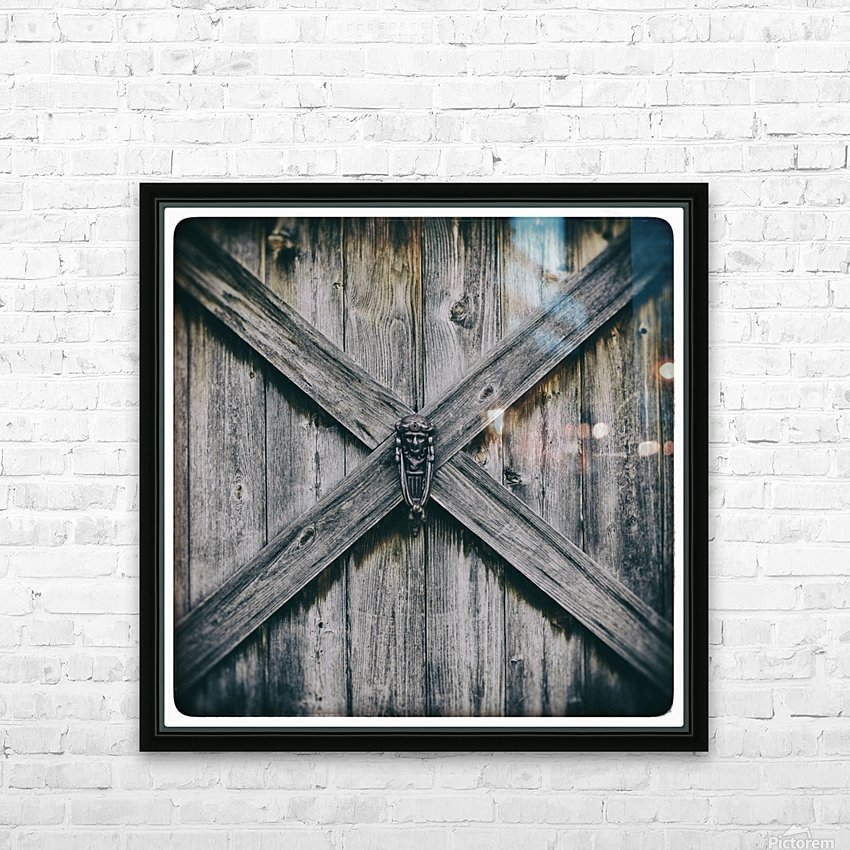X Marks the Spot HD Sublimation Metal print with Decorating Float Frame (BOX)