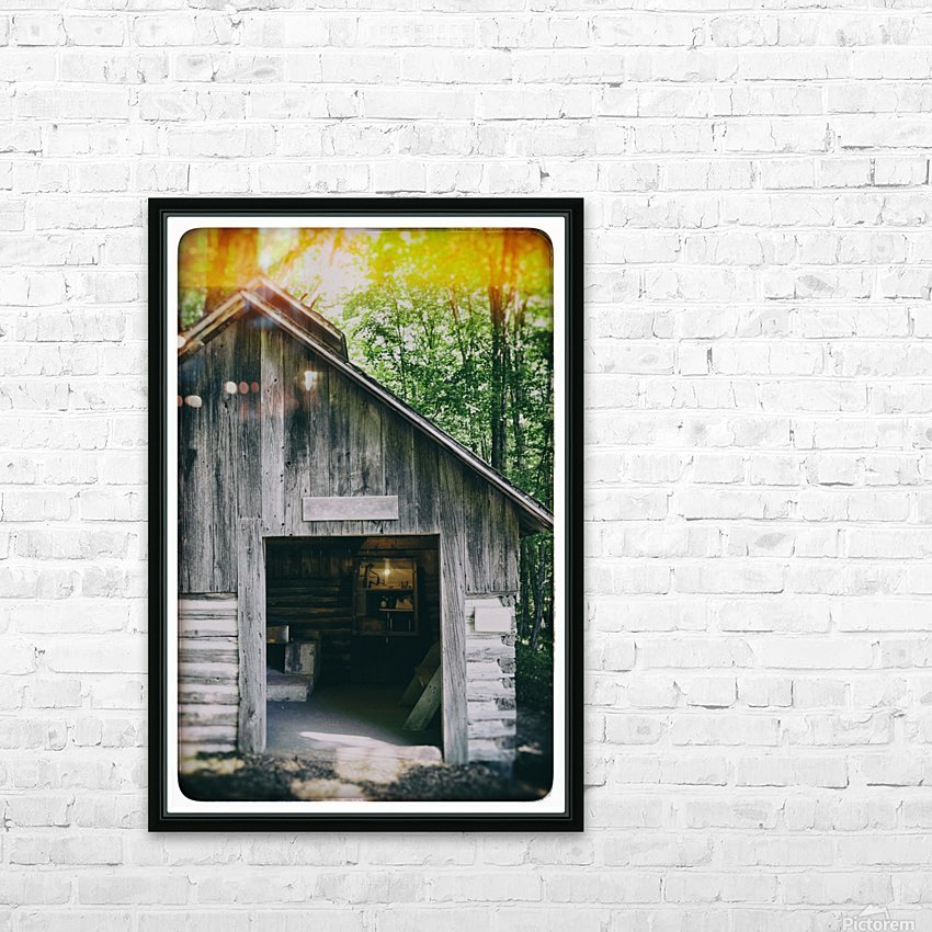 The Maple Shack HD Sublimation Metal print with Decorating Float Frame (BOX)