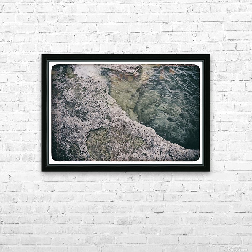 Along the water HD Sublimation Metal print with Decorating Float Frame (BOX)