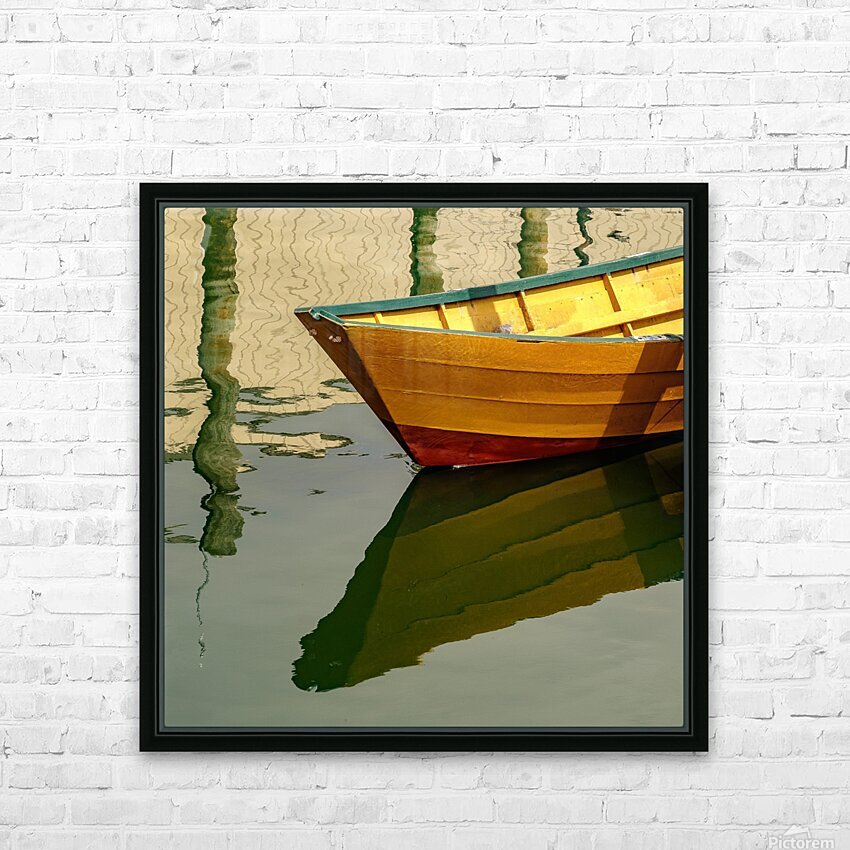 Goldie HD Sublimation Metal print with Decorating Float Frame (BOX)