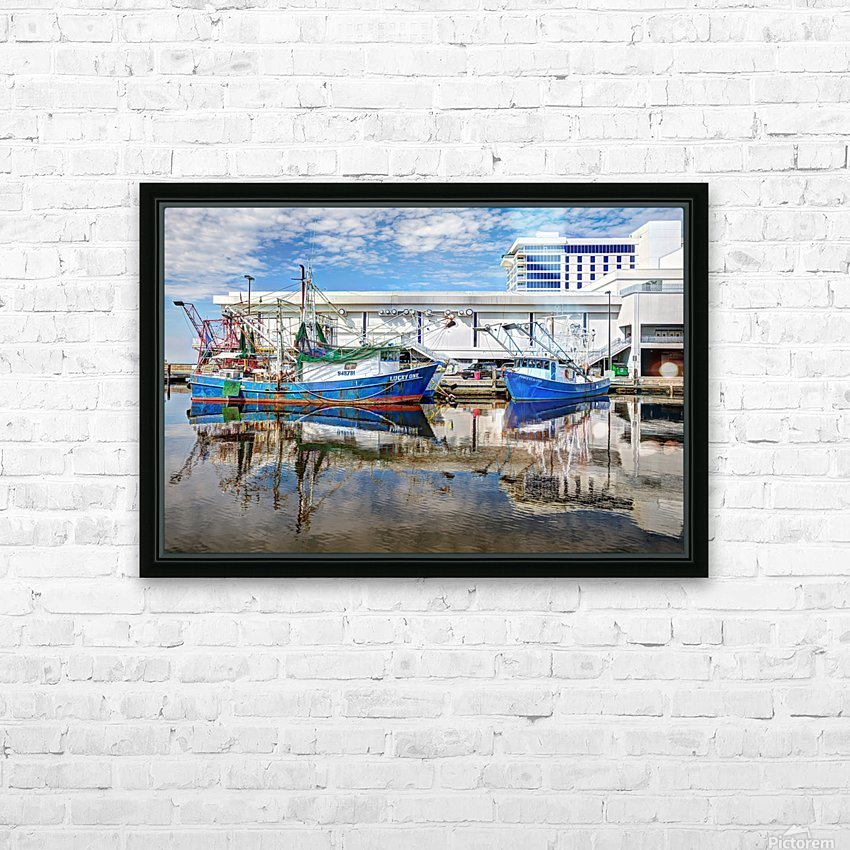PAY DAY - NATURAL EFFECT - HDR HD Sublimation Metal print with Decorating Float Frame (BOX)