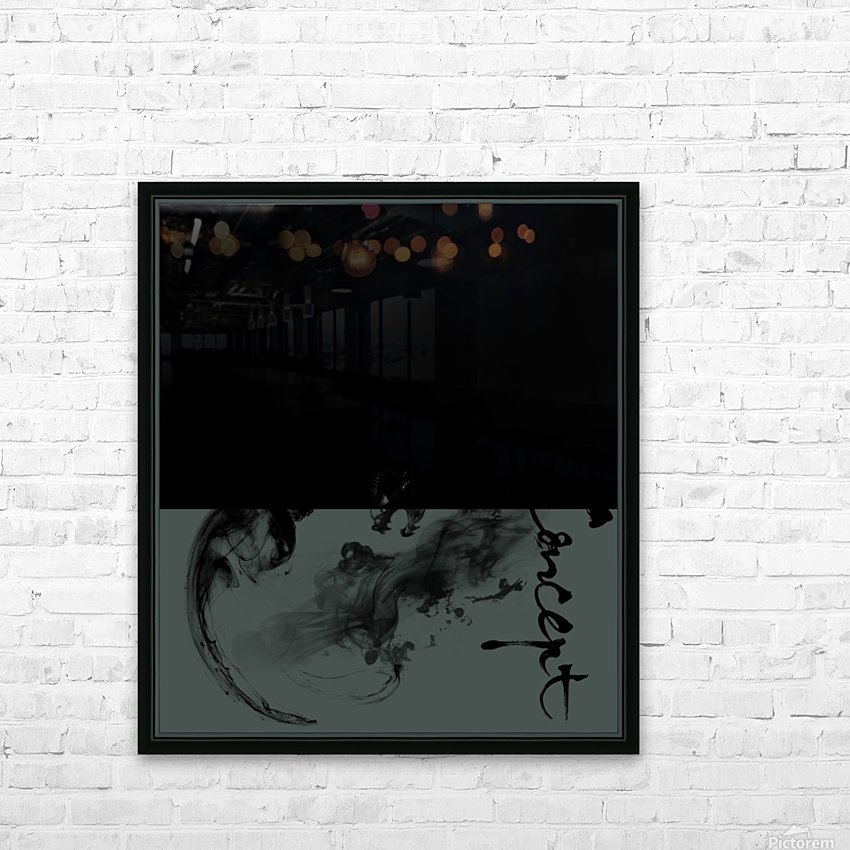 Chinese Concept 40A HD Sublimation Metal print with Decorating Float Frame (BOX)