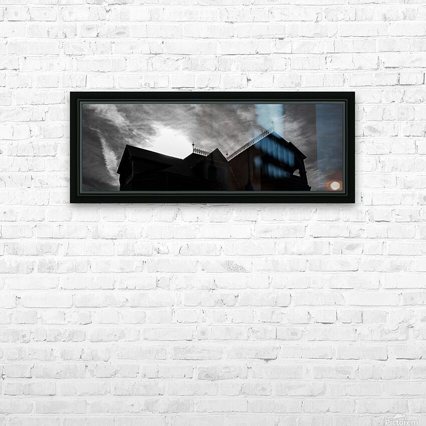 South Nashua Silhouette HD Sublimation Metal print with Decorating Float Frame (BOX)