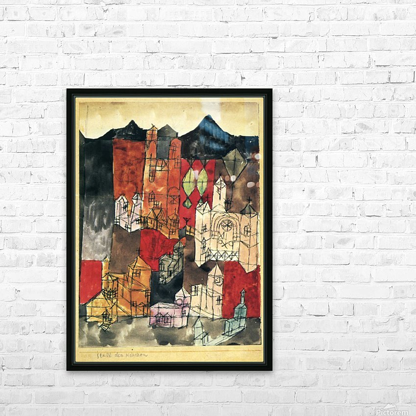 City of churches HD Sublimation Metal print with Decorating Float Frame (BOX)