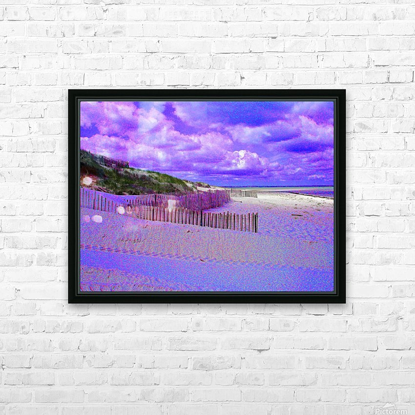 Nauset Beach Cape Cod Massachusetts HD Sublimation Metal print with Decorating Float Frame (BOX)