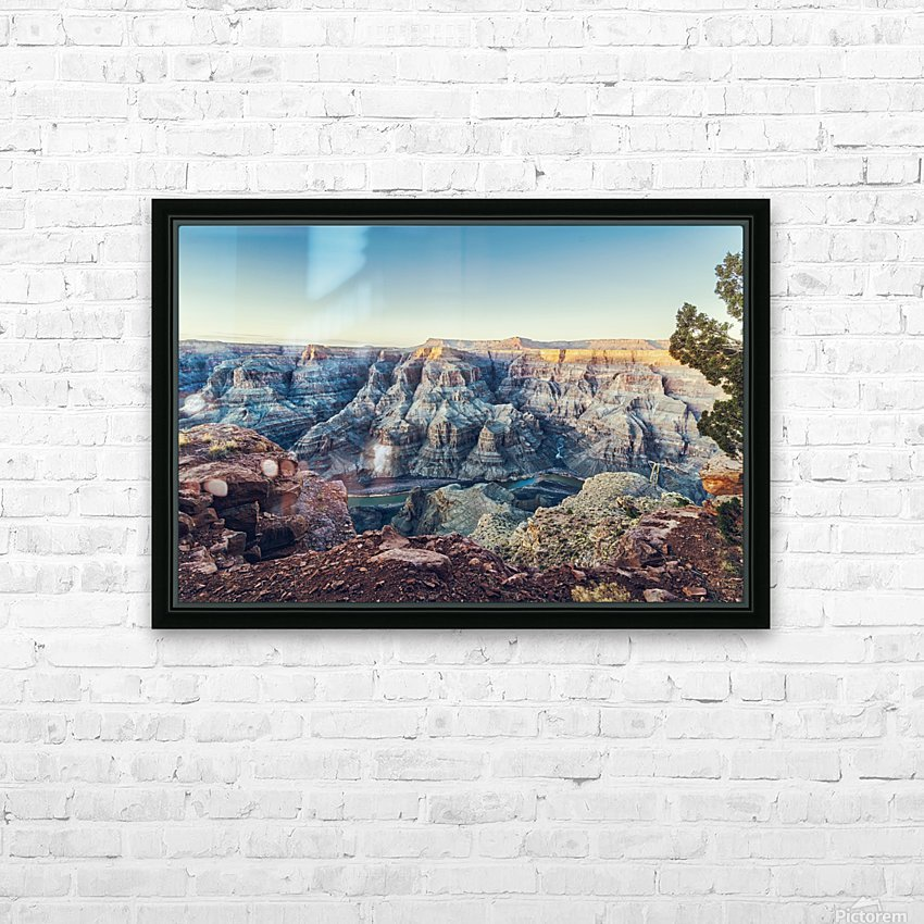 Grand Canyon National HD Sublimation Metal print with Decorating Float Frame (BOX)