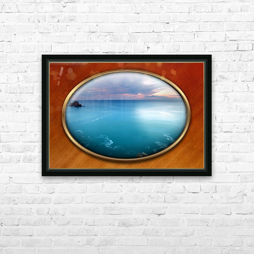 Landscape-10 HD Sublimation Metal print with Decorating Float Frame (BOX)
