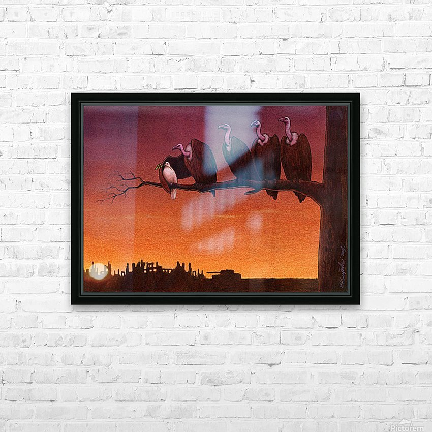 Pawel Kuczynski 24 HD Sublimation Metal print with Decorating Float Frame (BOX)