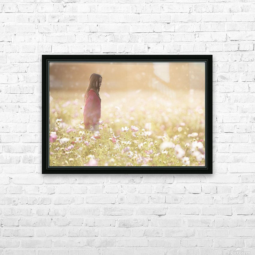 Peaceful Meadow Utah United States HD Sublimation Metal print with Decorating Float Frame (BOX)