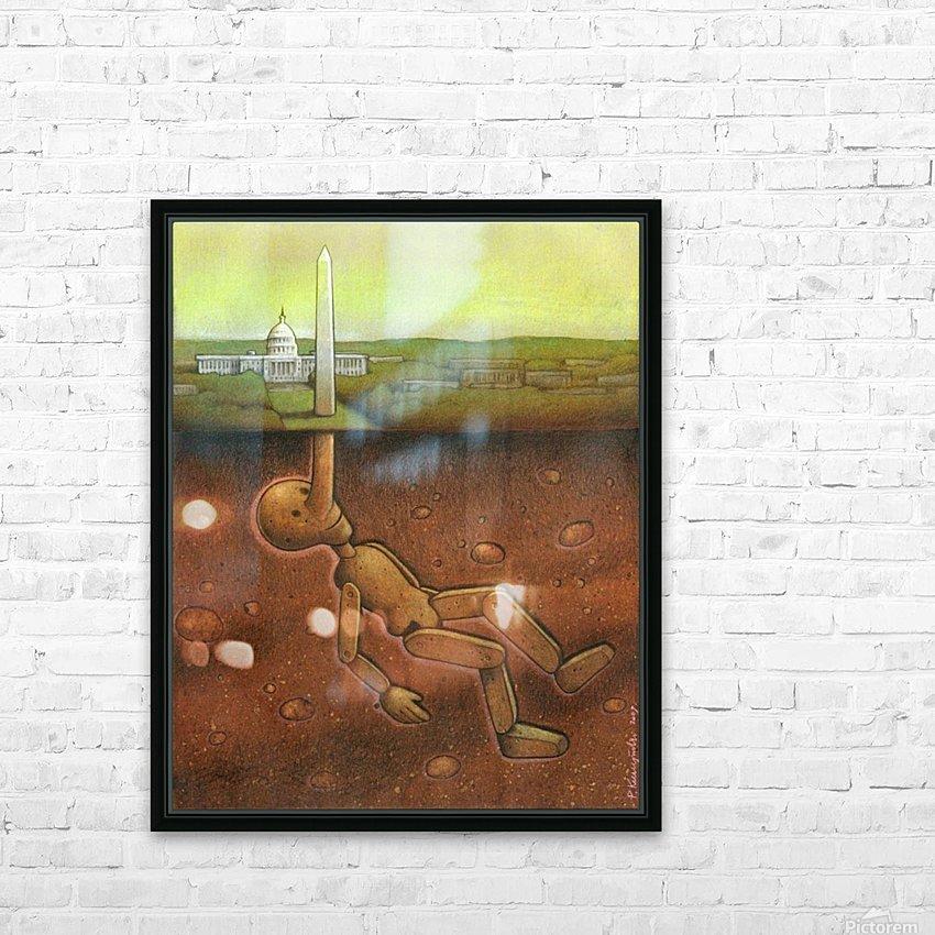 Pawel Kuczynski 25 HD Sublimation Metal print with Decorating Float Frame (BOX)